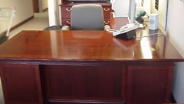 furniture used for kit desk repair wood small cherry