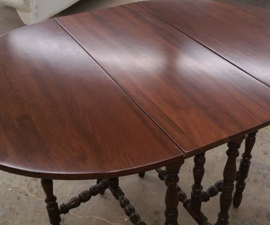 Dining Room Table Repair Antique Restoration Fort Wayne